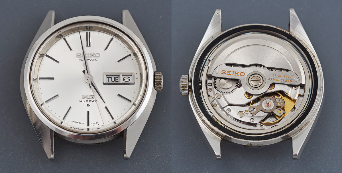 c2cf9f33d Removing the movement allows us to confirm just how perfect the dial is.