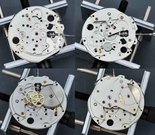 Reassembling a watch movement